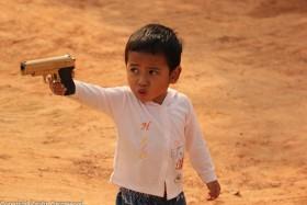 Foto Der Woche – Ein Junge Beim Spielen In Siem Reap In Kambodscha