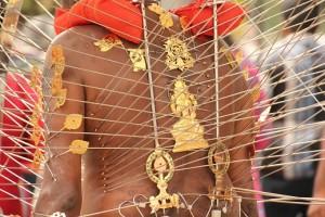 Thaipusam Festival Prozession Umzug Singapur
