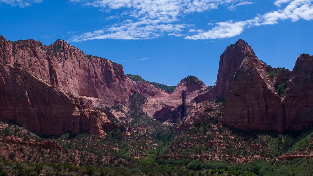 Artikel teil 4 rundreise usa kolob canyon im zion for Zion motors st george