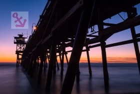 Foto Der Woche – Sonnenuntergang beim San Clemente Pier in Kalifornien