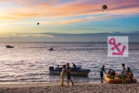 Foto Der Woche – Sonnenuntergang beim Batu Ferringhi Strand auf der Penang Insel in Malaysia