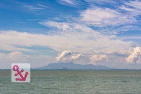 Foto Der Woche – Festland Malaysia gesehen von der Insel Penang