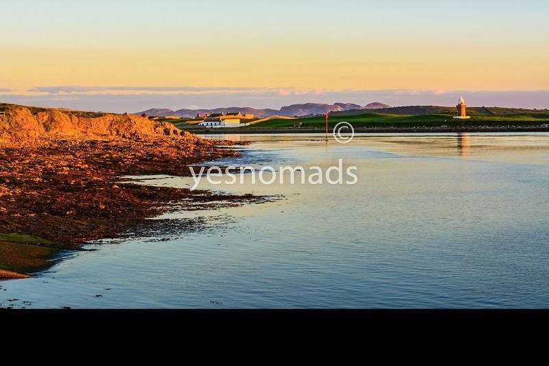 Foto Der Woche – Sonnenuntergang beim Rosses Point in der Nähe von Sligo in Irland