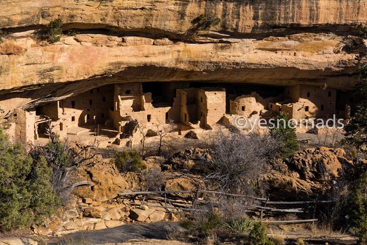 Foto Der Woche – Felsbehausungen der Anasazi beim Mesa Verde Nationalpark in Colorado