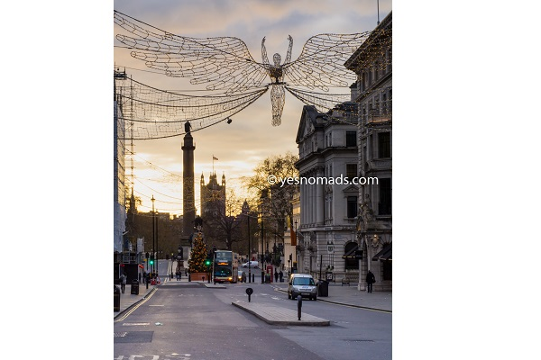 Foto Der Woche – Regent Street während der Weihnachtszeit in London