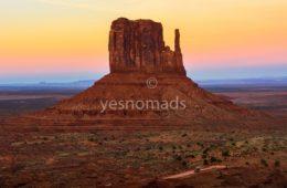 Foto Der Woche – Sonnenuntergang in Monument Valley in Arizona