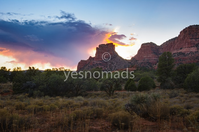 Foto Der Woche – Sonnenuntergang in Sedona in Arizona