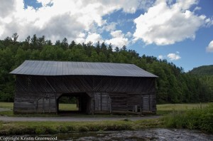 Caldwell Barn in the Smoky Mountains