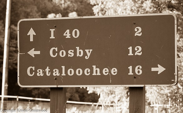 Sign Cataloochee