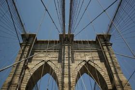Video: Walk across Brooklyn Bridge New York City