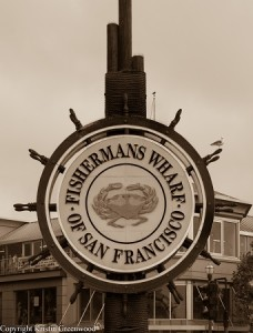 Sign At Fisherman's Wharf