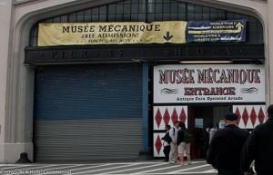 Entrance to Musée Mécanique