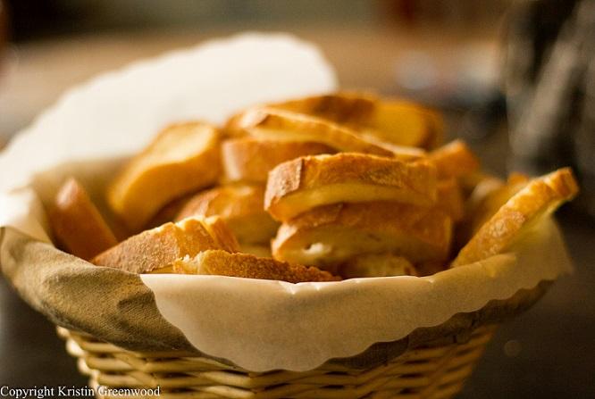 Baguette At La Farine Bakery