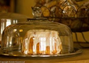 Cake at La Farine Bakery