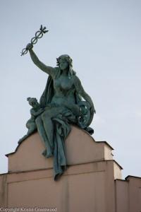 Statue At The Republic Square
