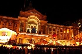Video: Birmingham Frankfurt Christmas & Crafts Market 2013