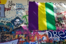 Video: Prague Metronome & John Lennon Wall 2013