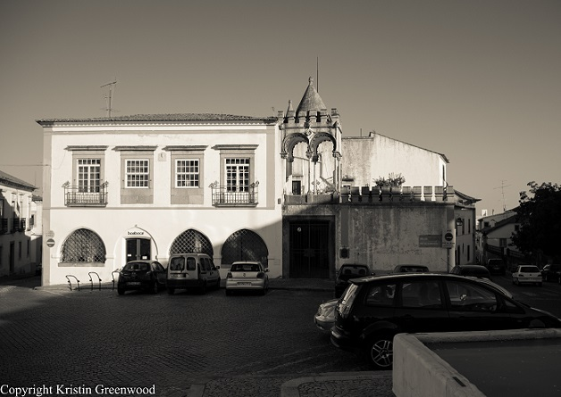 Building in Evora