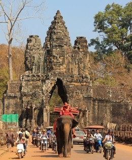 Photo Of The Week – Southgate of Angkor Thom