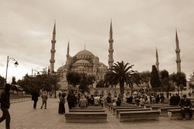 Video: Blue Mosque in Istanbul Sultan Ahmed Mosque