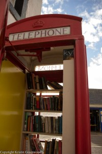 Kinnesswood Telephone Library