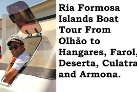 Video: Ria Formosa Islands Boat Tour from Olhão