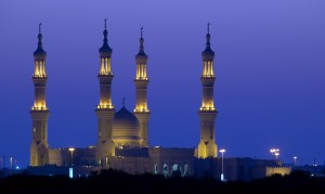 Sheikh Zayed Mosque in Ras al Khaimah UAE United Arab Emirates