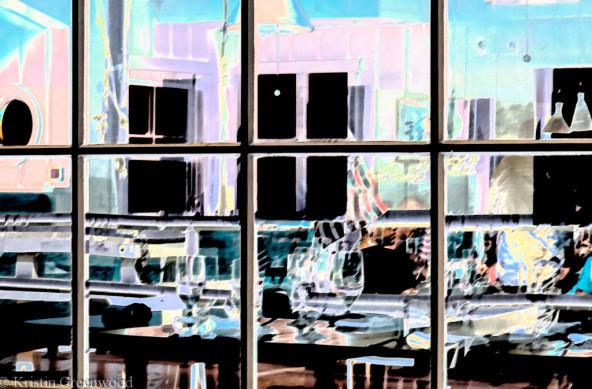 Photo Of The Week – Dinner Reflection taken in Malibu in California