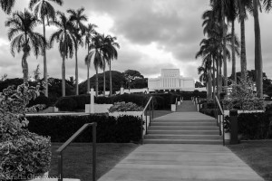 La'e Hawaii Temple Mormon Church Oahu Island of Hawaii