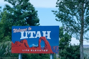 Sign Utah State