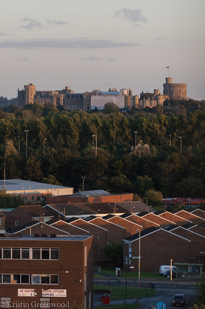 Photo Of The Week – Her Majesty's View – Windsor Castle & Slough