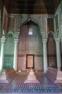 Burial Chamber Saadian Tombs