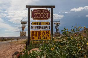 Fort Zion Virgin Trading Post Utah