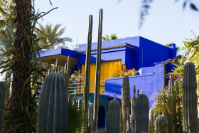 Video: The Garden Jardin Majorelle in Marrakech Morocco