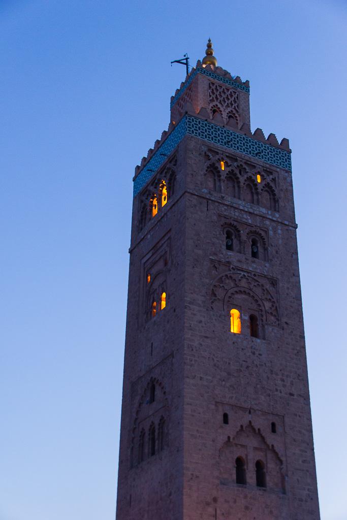 Koutoubia Mosque Marrakech in Morocco