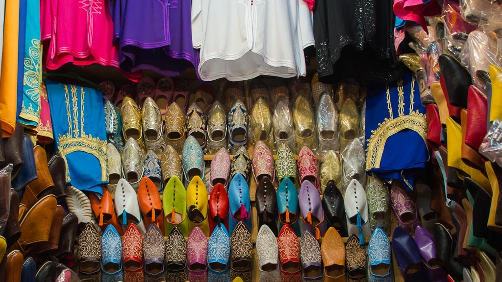 Shoes at Souk
