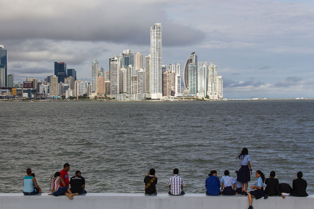 Skyline Panama City Punta Paitilla -1-2