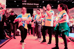 Video: The Philippines Rock London WTM 2014