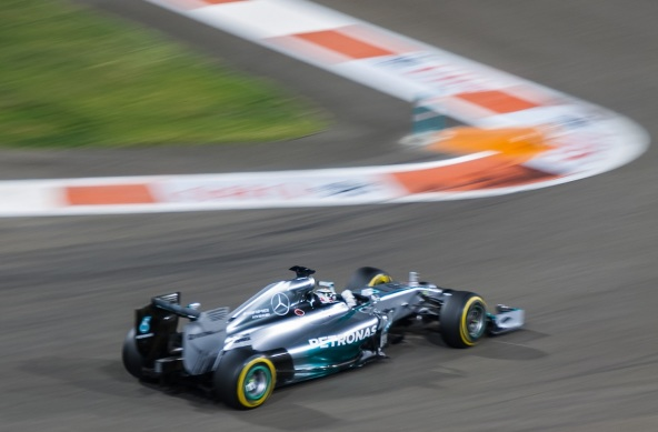 Photo Of The Week – The Car Of F1 World Champion Sun 23 Nov 2014 Lewis Hamilton