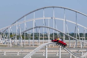 Video: The Ferrari World Abu Dhabi Theme Park Yas Island UAE