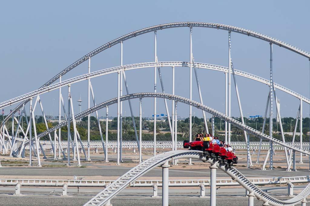 Ferrari World Abu Dhabi Formula Rossa Roller Coaster