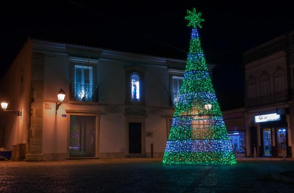 Photo Of The Week – Christmas Tree at Praça da Restauração in Olhão Portugal