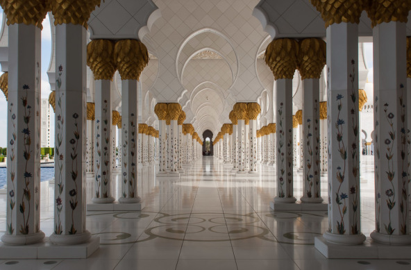 Photo Of The Week – The Sheikh Zayed Mosque in Abu Dhabi