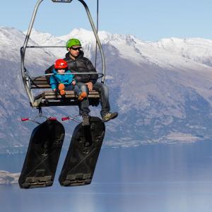 Ski Lift Skyline Gondola Station