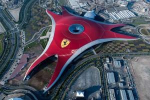 Ferrari World Abu Dhabi Roof