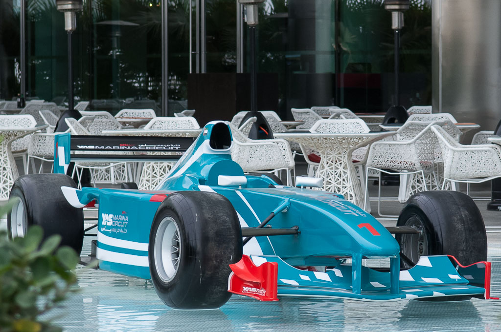 Yas Marina Circuit Car