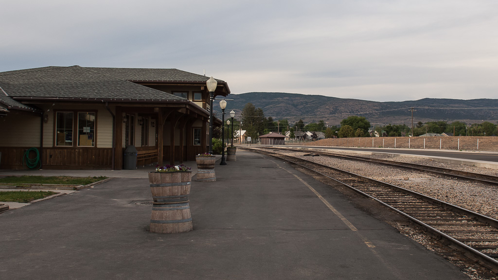 Heber City Railroad Station