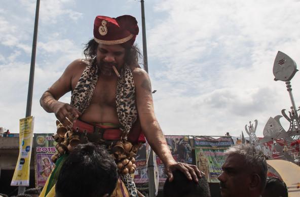 Photo Of The Week – Human Kavadi at the Thaipusam 2015 at the Batu Caves in Malaysia