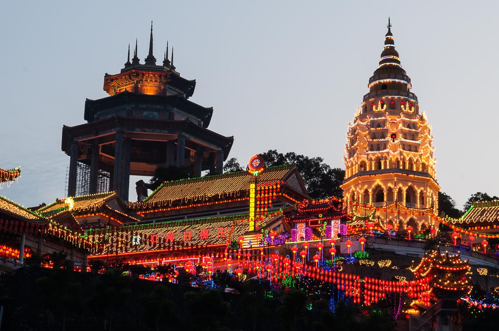 Article: Visit to the Kek Lok Si Temple in Penang and Display of Lights
