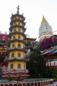 Pagodas at Kek Lok Si Temple